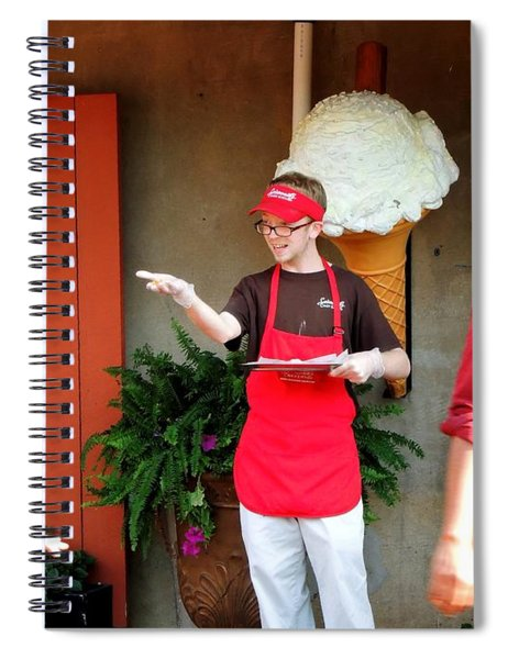 River Street Candy Man Spiral Notebook
