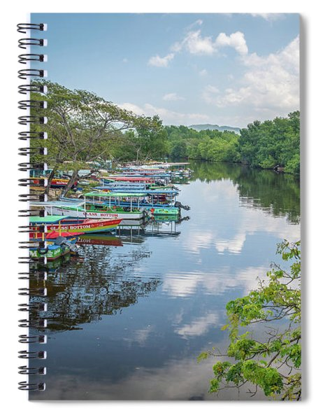 River Views In Negril, Jamaica Spiral Notebook