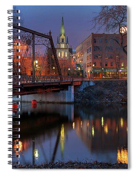 Riverplace Minneapolis Little Europe Spiral Notebook