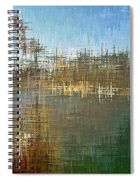 River's Edge Spiral Notebook