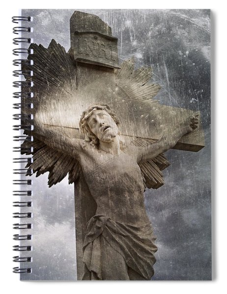 Riverside Cemetery Cross Spiral Notebook