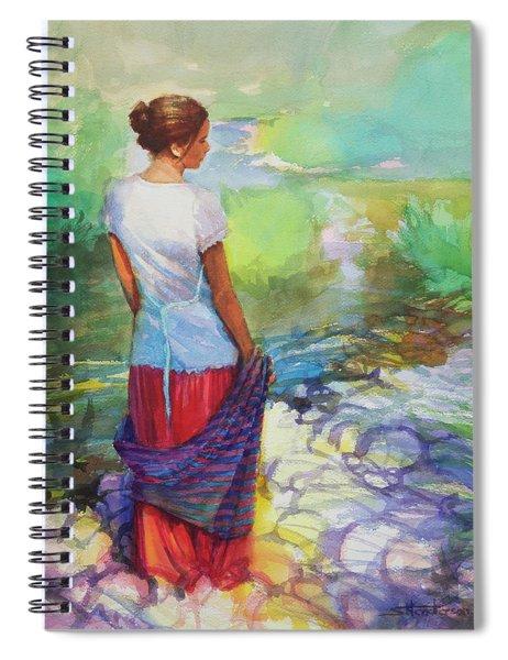 Riverside Muse Spiral Notebook