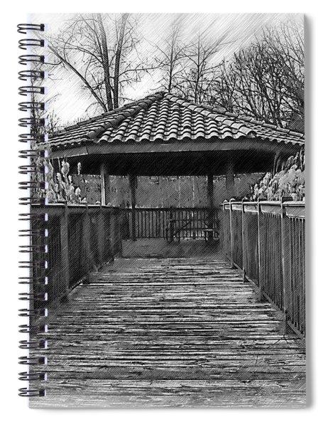 Riverside Pavilion Spiral Notebook
