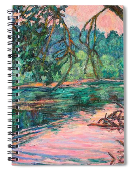 Riverview At Dusk Spiral Notebook