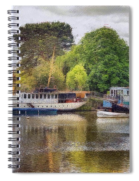 Riverview Vii Spiral Notebook