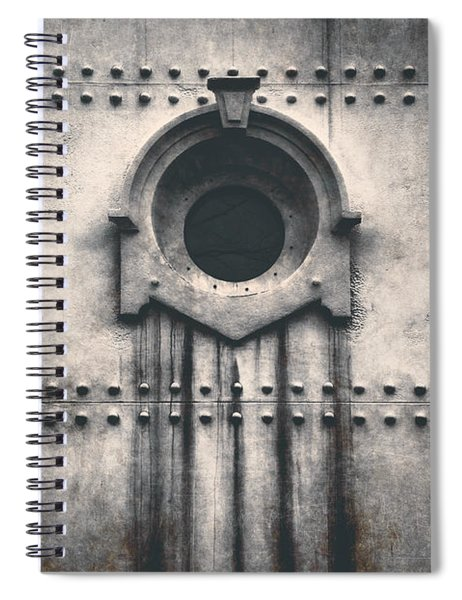 Rivets And Rust Spiral Notebook