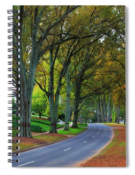 Road In Charlotte Spiral Notebook