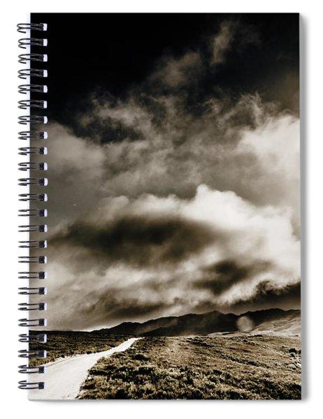 Road Storm Spiral Notebook