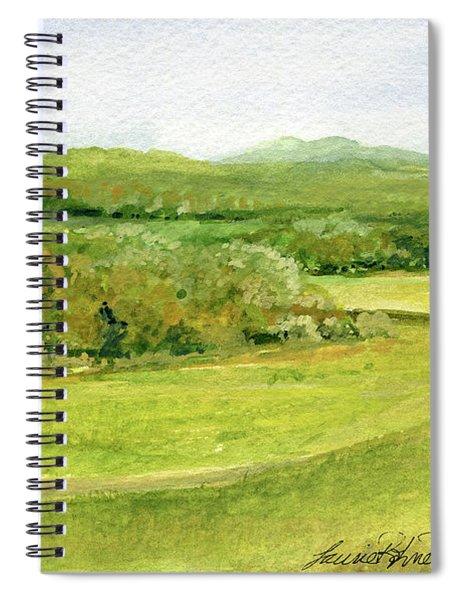 Road Through Vermont Field Spiral Notebook