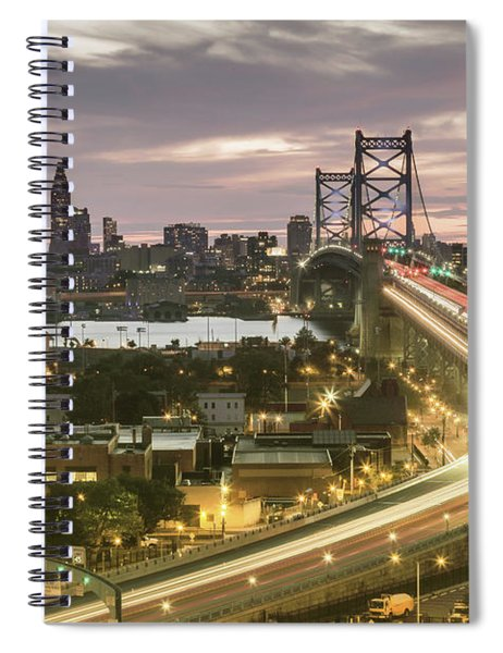 Road To Brotherly Love Spiral Notebook