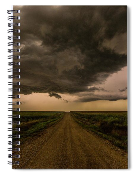 Road To Chaos  Spiral Notebook