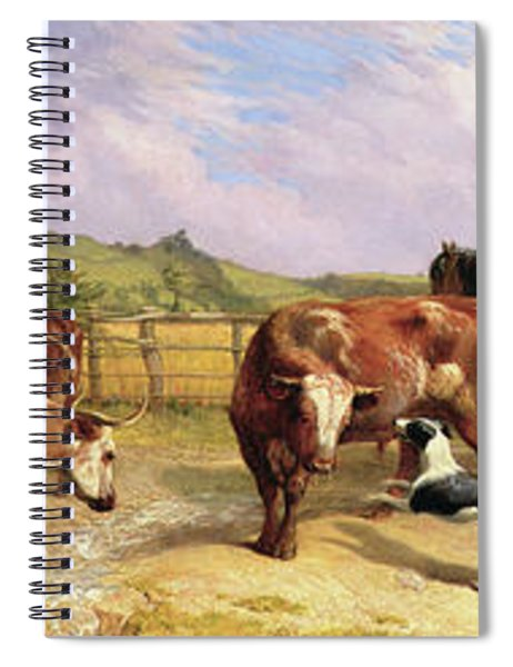 Road To Gloucester Fair Spiral Notebook