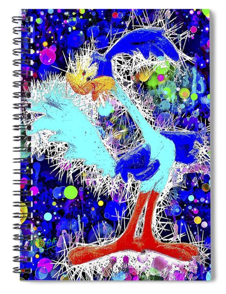 Road Runner Spiral Notebook