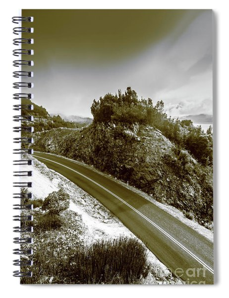 Roads Of High Dynamic Ranges Spiral Notebook