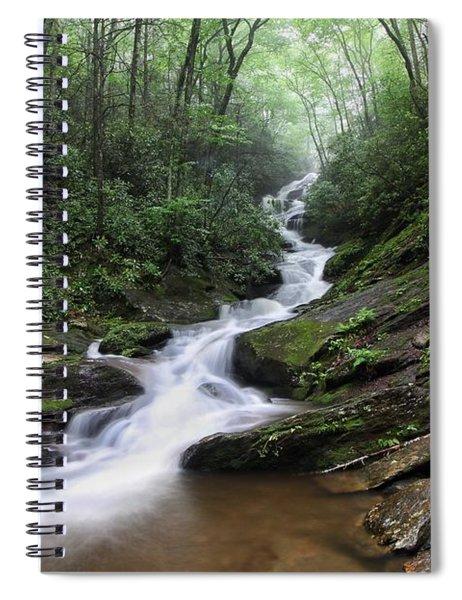 Roaring Fork Falls Spiral Notebook