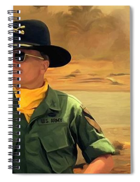 Robert Duvall @ Apocalypse Now Spiral Notebook