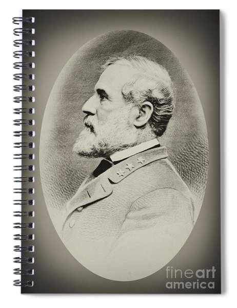 Robert E Lee - Csa Spiral Notebook