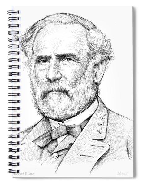 Robert E. Lee Spiral Notebook