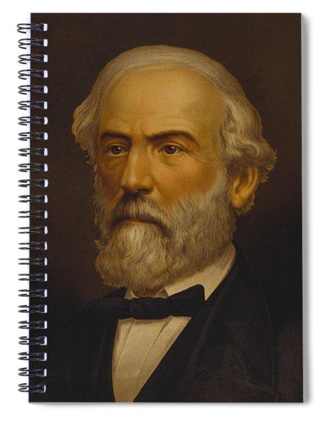 Robert E. Lee Painting Spiral Notebook