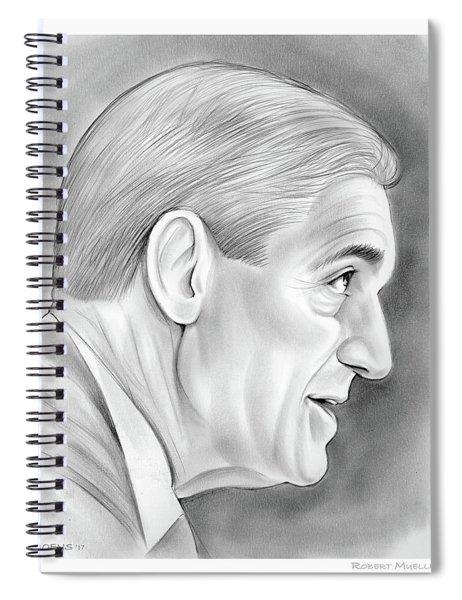 Robert Mueller Spiral Notebook