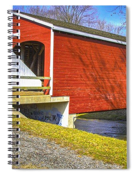 Roberts Covered Bridge Spiral Notebook