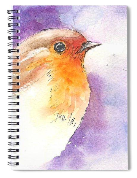 Robin 2 Spiral Notebook