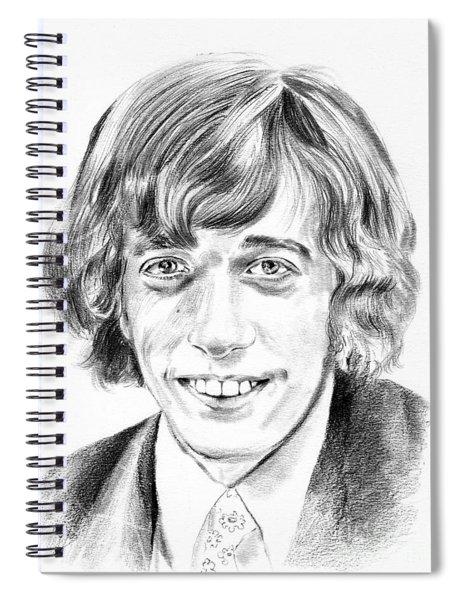 Robin Gibb Drawing Spiral Notebook