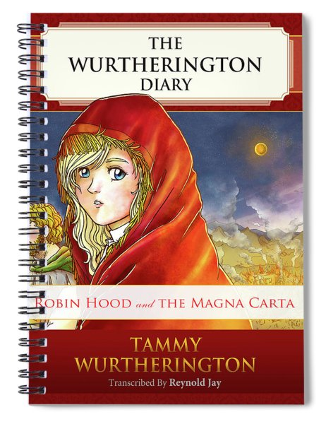 Robin Hood Cover Spiral Notebook