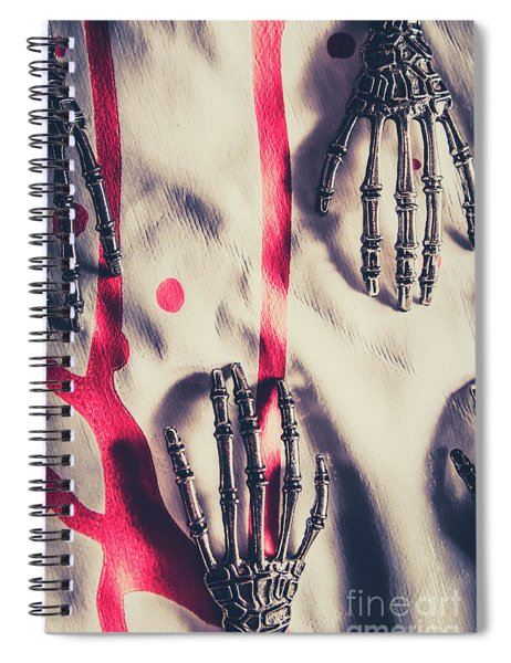 Robot Killing Machines Spiral Notebook