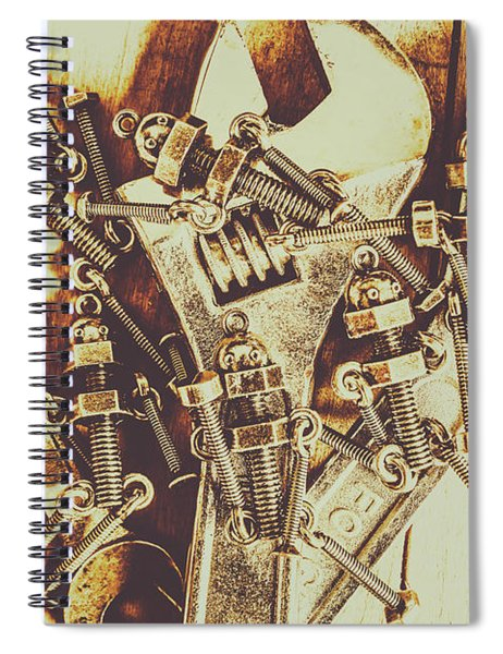 Robotic Repairs Spiral Notebook