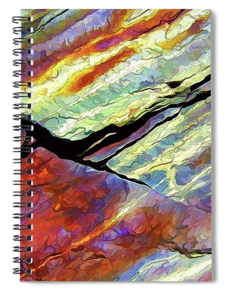 Rock Art 16 Spiral Notebook