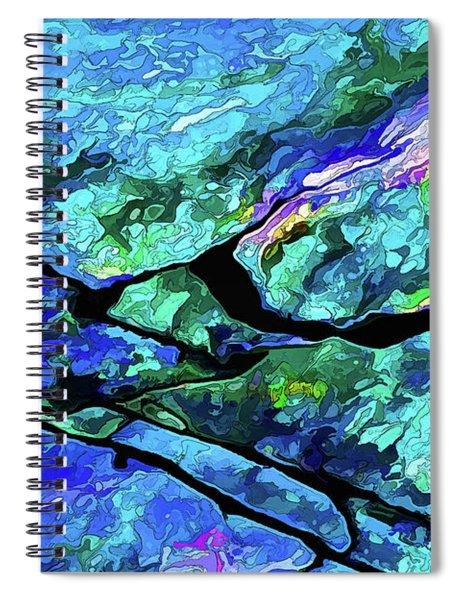 Rock Art 18 Spiral Notebook