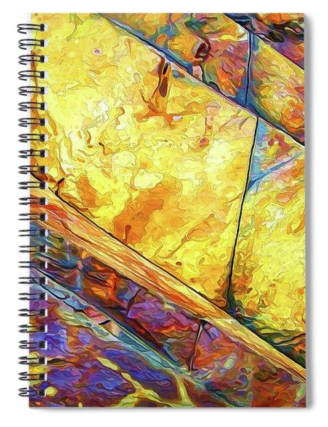 Rock Art 23 Spiral Notebook