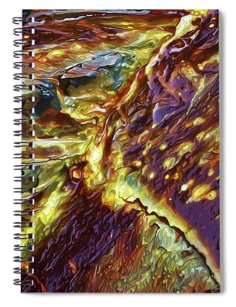 Rock Art 28 Spiral Notebook