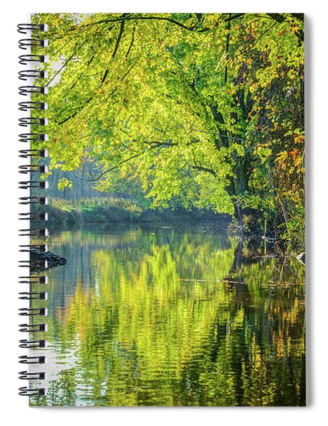 Rock At Sunrise Spiral Notebook
