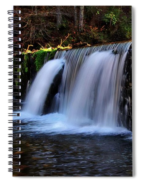 Rock Bridge Falls Spiral Notebook