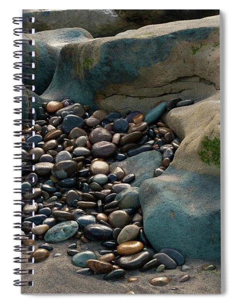 Rock Cradle Spiral Notebook