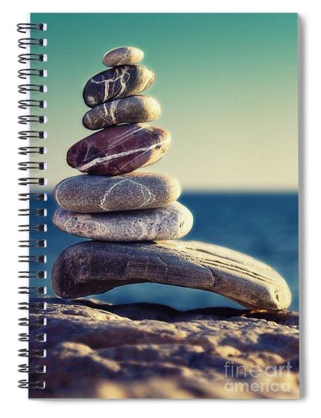 Rock Energy Spiral Notebook