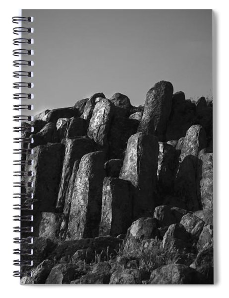 Monument To Glacier Spiral Notebook