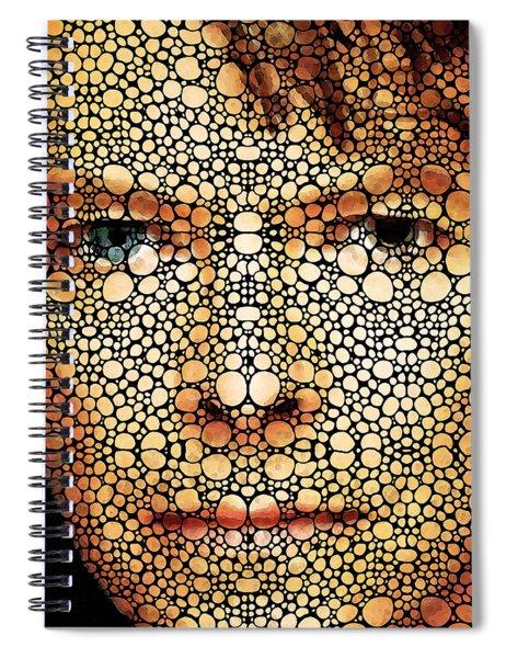 Rock Legend - David Bowie Tribute Spiral Notebook