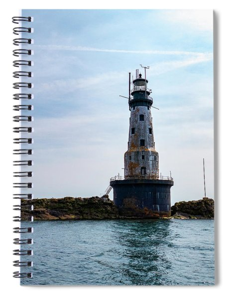 Rock Of Ages Lighthouse Spiral Notebook