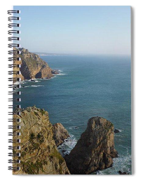 Rocks Near To Cabo Da Roca Spiral Notebook
