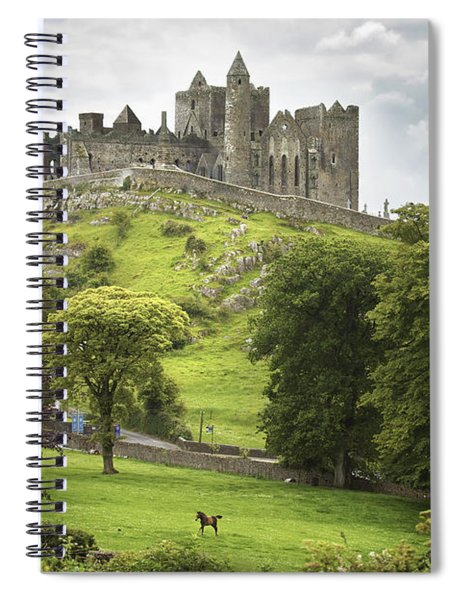 Rock Of Cashel Cashel County Tipperary Spiral Notebook