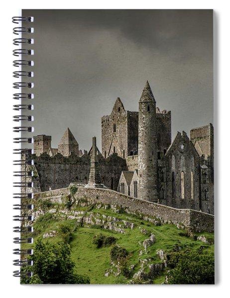Rock Of Cashel Spiral Notebook