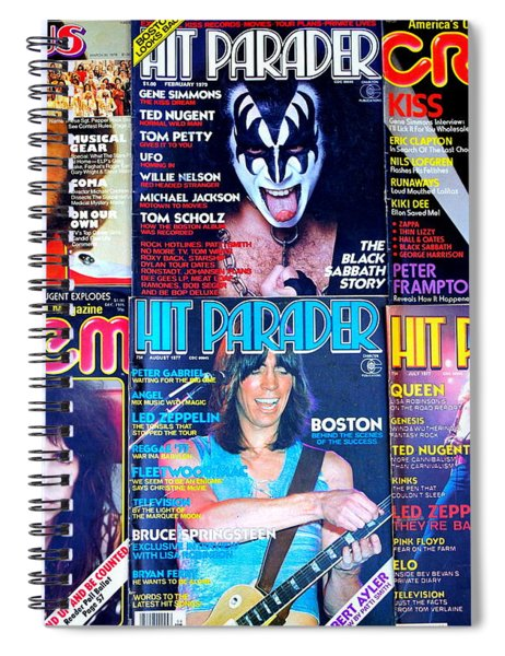 Rock Rags 1 Spiral Notebook