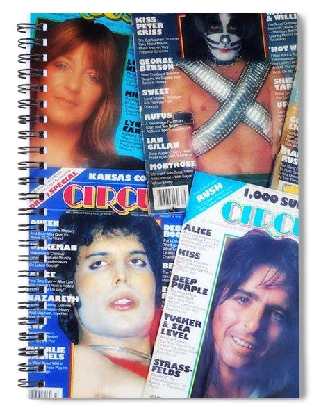 Rock Rags 3 Spiral Notebook