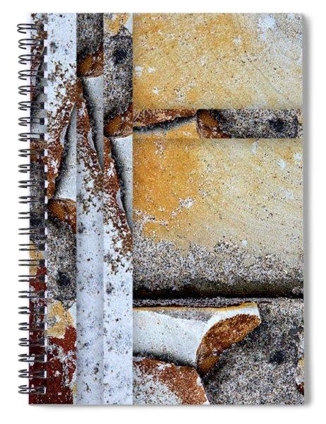 Rock Study 18 Spiral Notebook