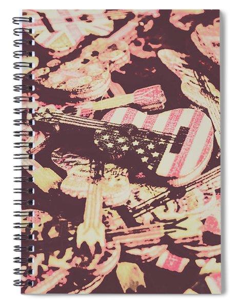 Rock World Tour Spiral Notebook