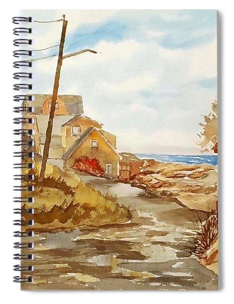 Rockport Coast Spiral Notebook