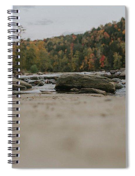 Rocks On Cumberland River Spiral Notebook